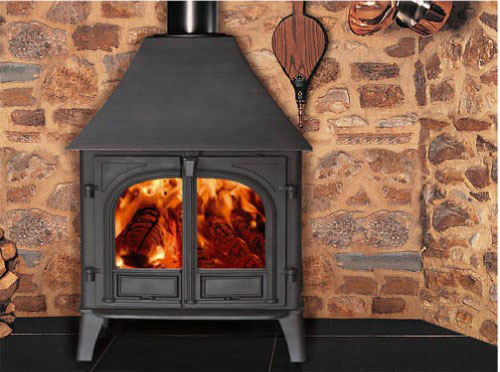 How to Clean the Glass on a Woodburning Stove Door