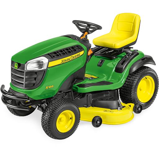 John Deere X166 Lawn Tractor